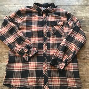 O'Neill Watt Flannel New with Tags Size XL